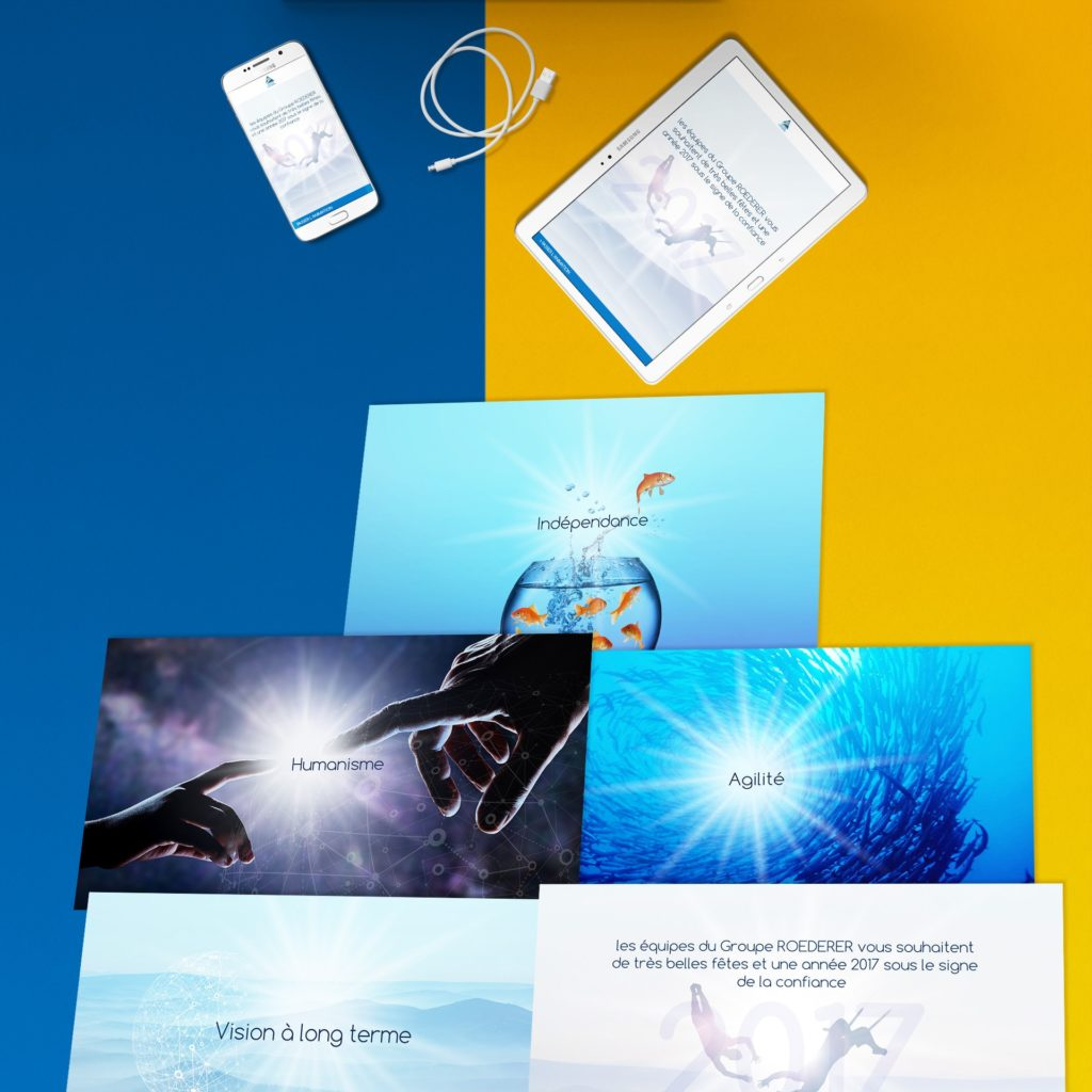 Groupe Roederer - E-card animée